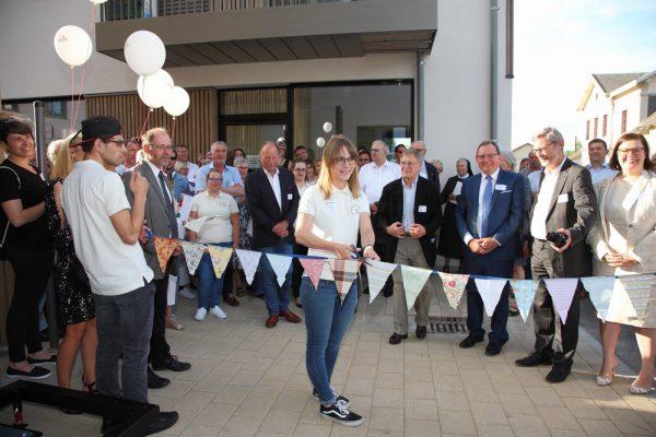 mini-offiziell Ouverture - D'Jennifer Schneider beim grousse Moment