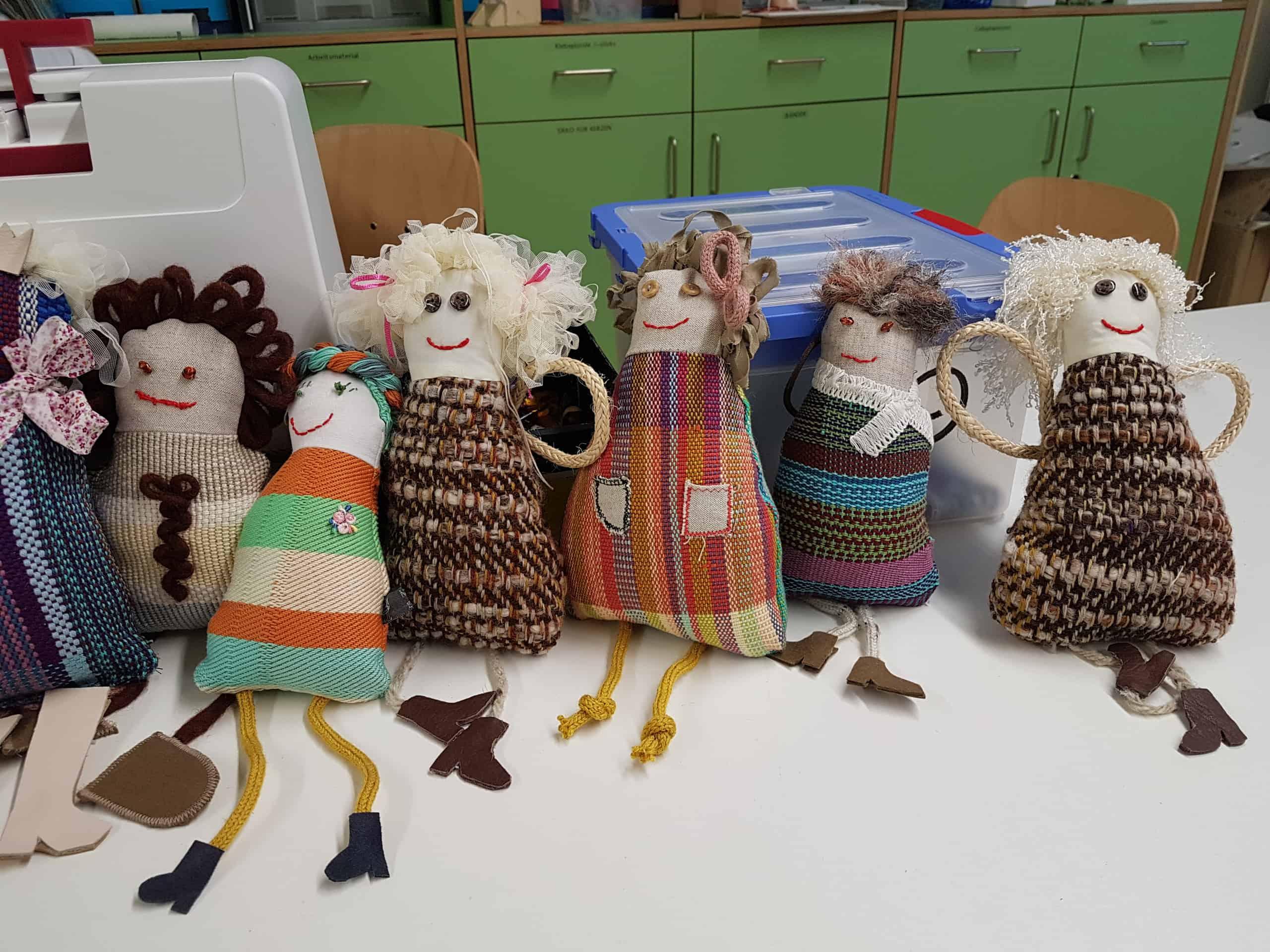 Un atelier de couture aux anges
